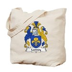 Lannoy Family Crest Tote Bag