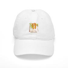 Tropical Aruba Bride Baseball Cap