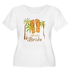 Tropical Aruba Bride T-Shirt