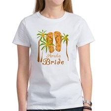 Tropical Aruba Bride Tee