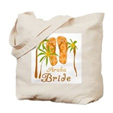 Tropical Aruba Bride Tote Bag