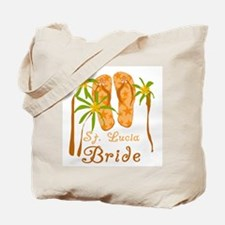 St. Lucia Bride Tote Bag