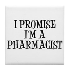 Cute Sexy pharmacist Tile Coaster