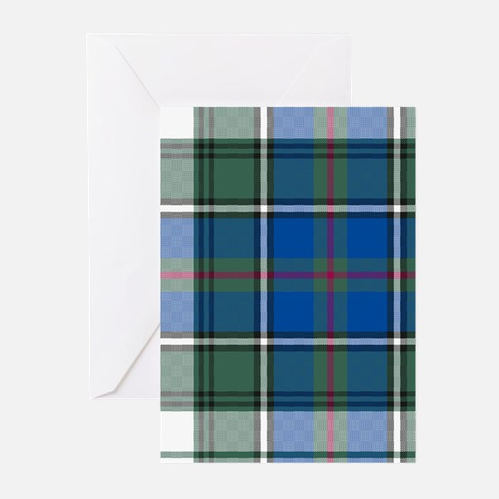 Tartan-MacInnes dress Greeting Cards (Pk of 10)