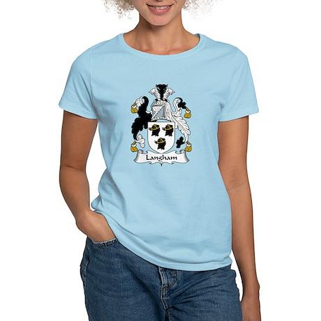 Langham Family Crest Women's Light T-Shirt