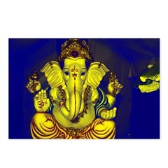 Lord Ganesh - Postcards (Package of 8)