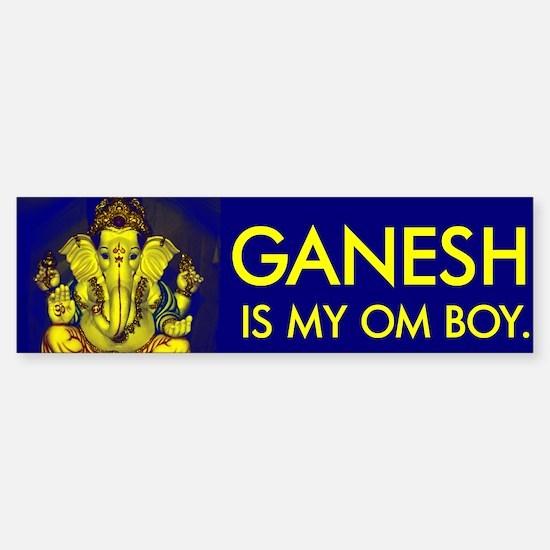 Bright Ganesh - Bumper Bumper Bumper Sticker