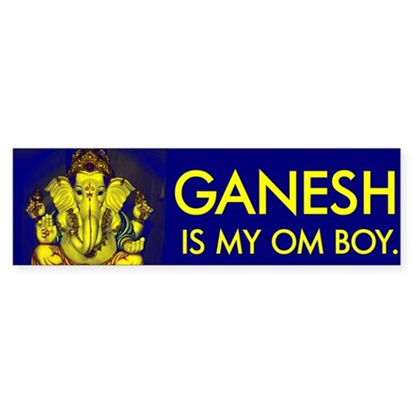 Bright Ganesh - Bumper Sticker
