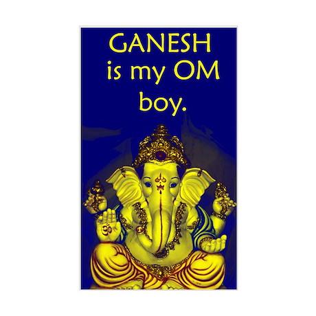 Ganesh Rectangle Sticker