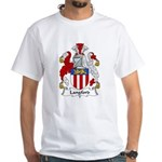 Langford Family Crest White T-Shirt