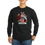 Langford Family Crest Long Sleeve Dark T-Shirt