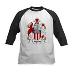 Langford Family Crest Kids Baseball Jersey