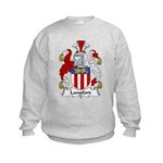 Langford Family Crest Kids Sweatshirt