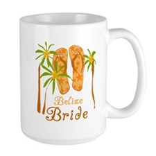 Tropical Belize Bride Mug