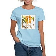 Tropical Belize Bride T-Shirt