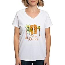 Tropical Belize Bride Shirt