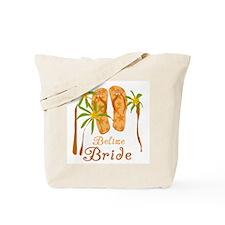 Tropical Belize Bride Tote Bag