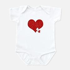 Autism Heart - Infant Bodysuit