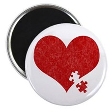"""Autism Heart - 2.25"""" Magnet (10 pack)"""