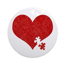 Autism Heart - Ornament (Round)