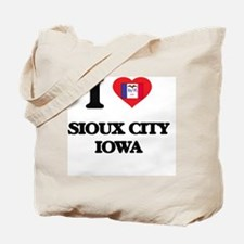 I love Sioux City Iowa Tote Bag