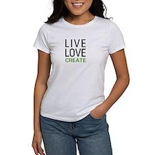 Live Love Create Tee