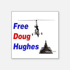 Free Doug Hughes Sticker