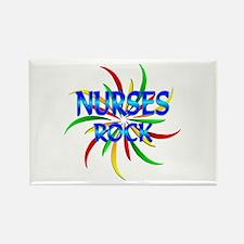 Nurses Rock Rectangle Magnet (100 pack)