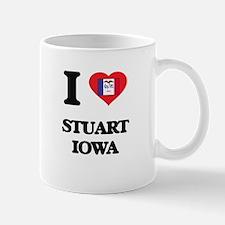 I love Stuart Iowa Mugs