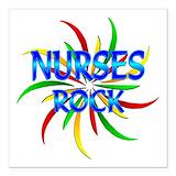 Nurse Square Car Magnets