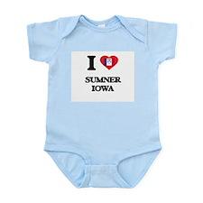 I love Sumner Iowa Body Suit