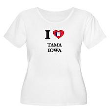 I love Tama Iowa Plus Size T-Shirt