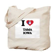 I love Tama Iowa Tote Bag