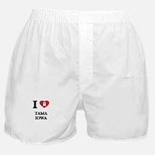 I love Tama Iowa Boxer Shorts