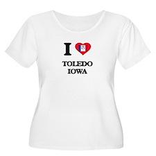 I love Toledo Iowa Plus Size T-Shirt