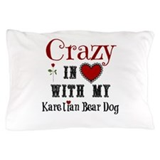 Karelian Bear Dog Pillow Case