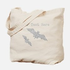 Distressed Grey Bats (Custom) Tote Bag