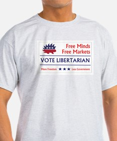 Vote Libertarian 2 T-Shirt