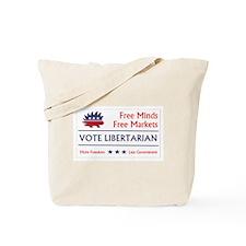 Vote Libertarian 2 Tote Bag