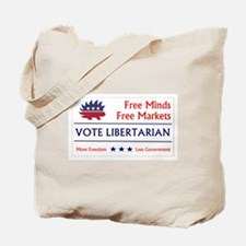 Vote Libertarian 2 Tote Bag