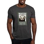 Ferret Wanted Poster Dark T-Shirt