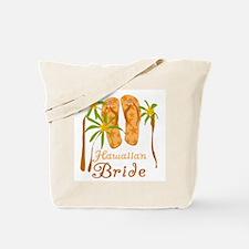 Tropical Hawaiian Bride Tote Bag