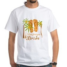 Tropical Martinique Bride Shirt