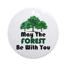May The Forest Ornament (Round)