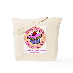 Camp Cupcake Tote Bag