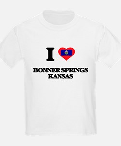 I love Bonner Springs Kansas T-Shirt
