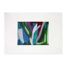The Painted Forest 5'x7'Area Rug