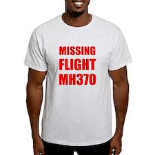 Missing Flight MH370 T-Shirt