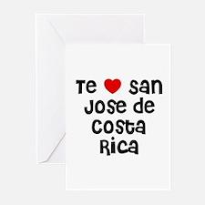 Te * San Jose de Costa Rica Greeting Cards (Pk of