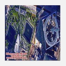 Discover the World: 9-11 Memorial Pa Tile Coaster